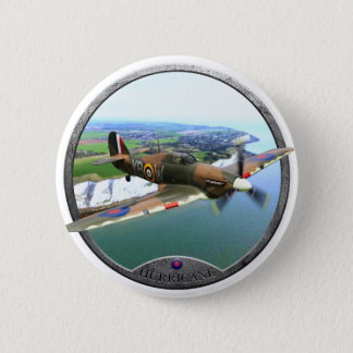 Badge Rond 5 Cm ouragan