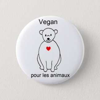 Badge Rond 5 Cm ours