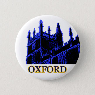 Badge Rond 5 Cm Oxford Angleterre 1986 spirales de construction bl