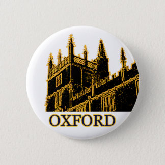 Badge Rond 5 Cm Oxford Angleterre 1986 spirales de construction Br
