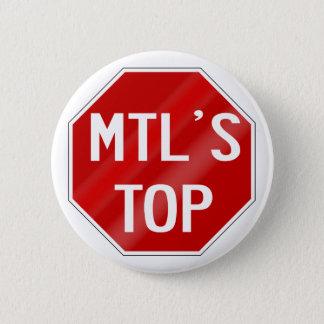 BADGE ROND 5 CM PAC DE MTLSTOP