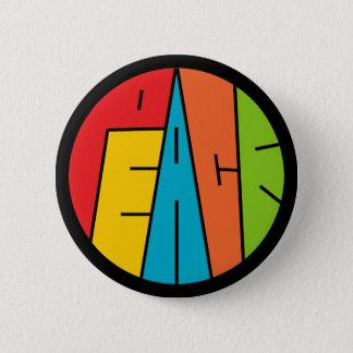 Badge Rond 5 Cm Paix - art de mot