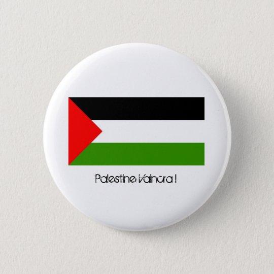 Badge Rond 5 Cm Palestine Vaincra !