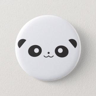 Badge Rond 5 Cm Panda semi-transparent
