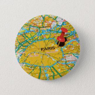 Badge Rond 5 Cm Paris, France