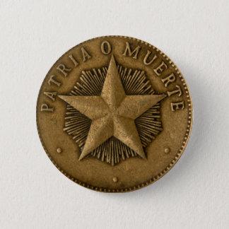 Badge Rond 5 Cm Patria o Muerte