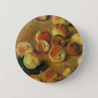 Badge Rond 5 Cm Pêches par Claude Monet