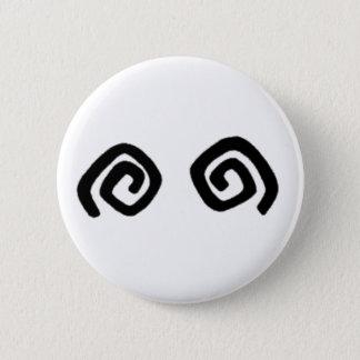 Badge Rond 5 Cm Peke bouton