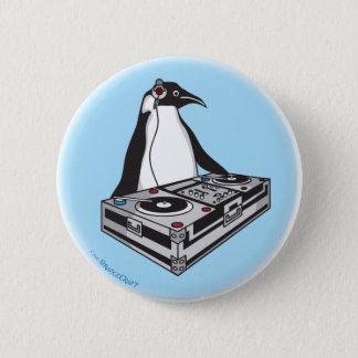 Badge Rond 5 Cm penguinX3 [1]
