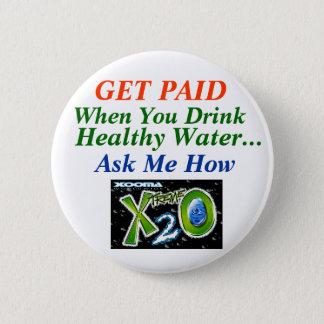 Badge Rond 5 Cm Perte d'eau saine