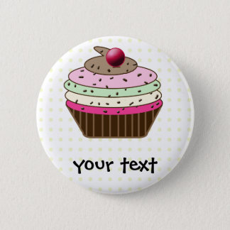 Badge Rond 5 Cm Petit gâteau doux