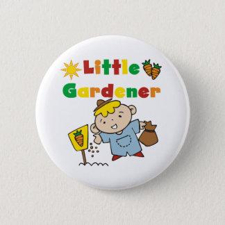 Badge Rond 5 Cm Petit jardinier de garçon
