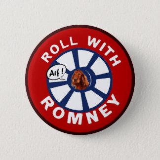 Badge Rond 5 Cm Petit pain avec Mitt Romney