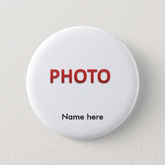 Badge Rond 5 Cm Photo commémorative personnalisée