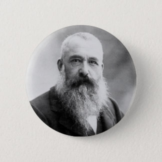 Badge Rond 5 Cm Photographie de Claude Monet par Nadar (1899)
