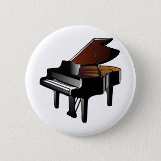 Badge Rond 5 Cm Piano