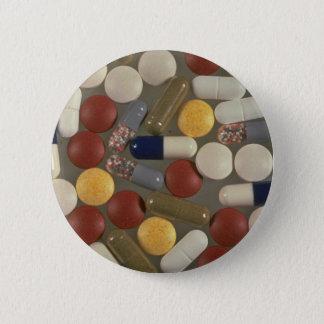 Badge Rond 5 Cm Pilules