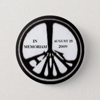 Badge Rond 5 Cm Pin commémoratif de Ted Kennedy