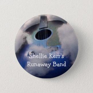 Badge Rond 5 Cm Pin de bande d'emballement de Shellie Kerr