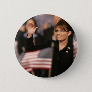 Badge Rond 5 Cm Pin de drapeau de Sarah Palin
