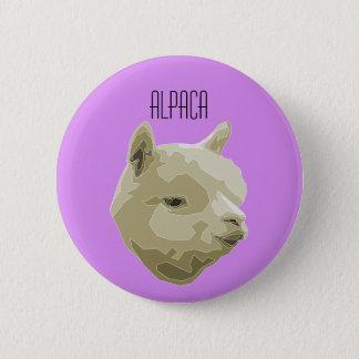 Badge Rond 5 Cm Plaque Alpaga