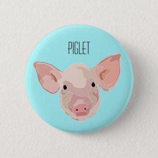 Badge Rond 5 Cm Plaque Petit cochon - Piglet