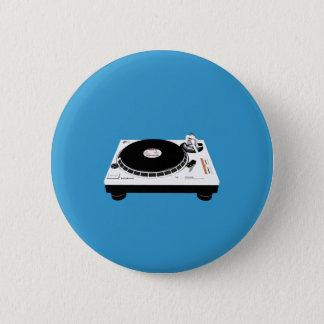 Badge Rond 5 Cm Plate-formes du DJ
