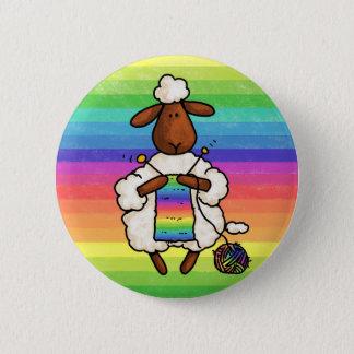 Badge Rond 5 Cm plutôt tricote