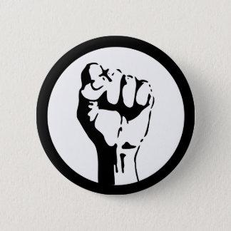 Badge Rond 5 Cm Poing augmenté