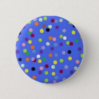 Badge Rond 5 Cm points, polka