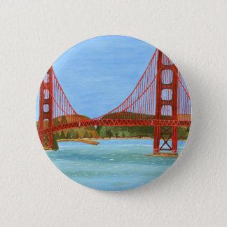 Badge Rond 5 Cm Pont de San Francisco