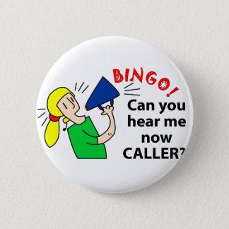 Badge Rond 5 Cm Pouvez-vous m'entendre maintenant visiteur de