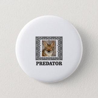 Badge Rond 5 Cm Prédateur pointu
