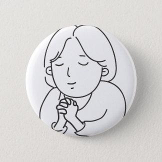 Badge Rond 5 Cm Prière