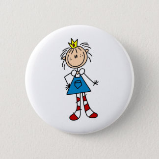 Badge Rond 5 Cm Princesse Annie Button