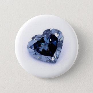 Badge Rond 5 Cm produits bleus de diamant