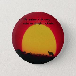 Badge Rond 5 Cm Proverbe cherokee