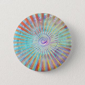 Badge Rond 5 Cm Puissance d'âme - vagues légères à énergie solaire
