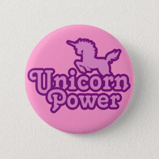 Badge Rond 5 Cm Puissance de licorne ! Boutons de nouveauté