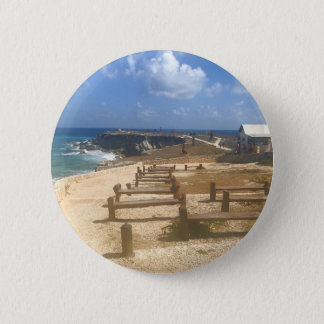 Badge Rond 5 Cm Punta Sur, Isla Mujeres, bouton du Mexique #3
