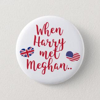 Badge Rond 5 Cm Quand Harry a rencontré le mariage royal
