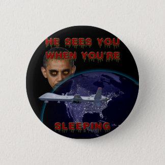 Badge Rond 5 Cm Quand vous dormez - ronds