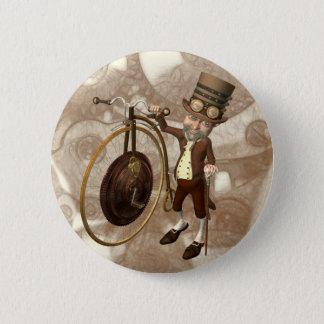 Badge Rond 5 Cm Quart de penny Steampunk de penny