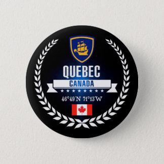 Badge Rond 5 Cm Québec
