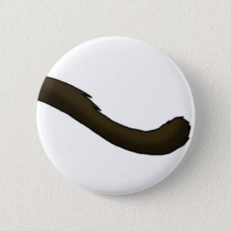 Badge Rond 5 Cm Queue de chat siamois