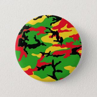 Badge Rond 5 Cm Rasta a coloré le camouflage