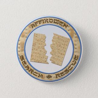 Badge Rond 5 Cm Recherche et délivrance d'Affikomen
