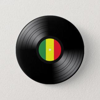 Badge Rond 5 Cm Reggae de vinyle