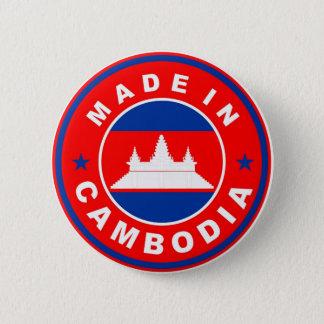 Badge Rond 5 Cm rendu dans l'étiquette de produit de drapeau de