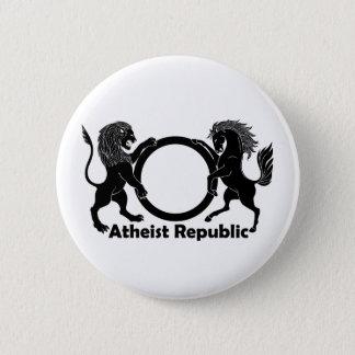 Badge Rond 5 Cm République athée